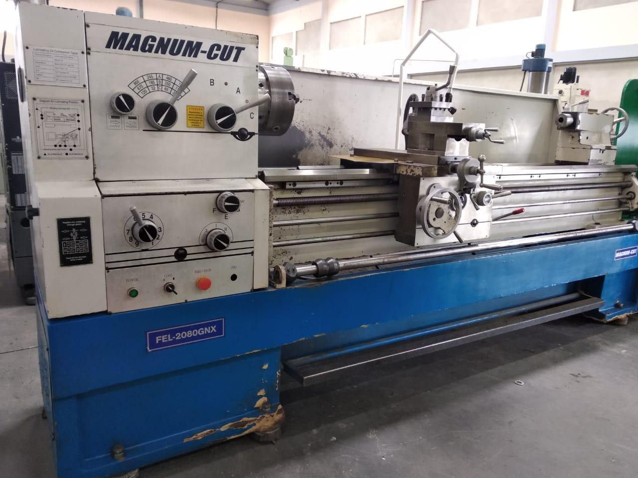 Torno Mecânico, marca Magnum Cut, modelo FEL 2080 GNX | Vision Mach Equipamentos