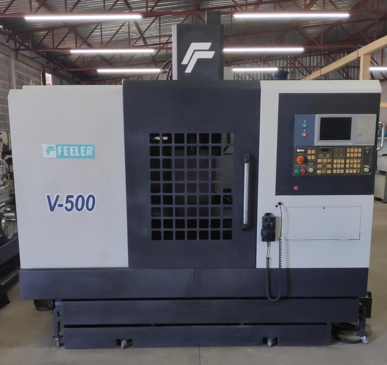 Centro de Usinagem Feeler V-500 | Vision Mach Equipamentos