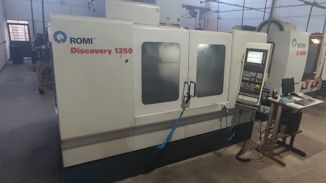Centro de Usinagem Romi, Discovery 1250 | Vision Mach Equipamentos